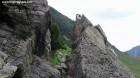 Poarta potecii - Valea Balea - Muntii Fagaras