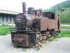 Locomotiva veche din Pasul Ghimes-Palanca